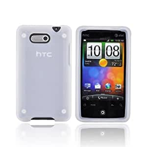 For HTC Aria Silicone Case Cover Skin FROST WHITE