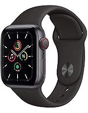 AppleWatchSE GPS+Cellular, koperta 40mm, aluminium, gwiezdna szarość, pasek sportowy, czarny – standardowy