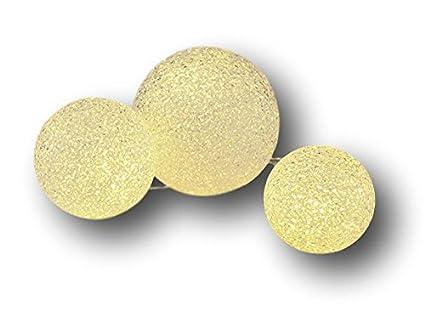 Set di sfere di luce palla luce sfera luminosa palla di vetro con