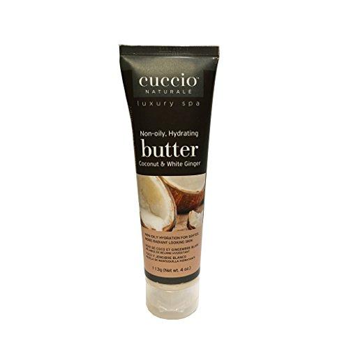 Cuccio Coconut & White Ginger Butter ‑ 4 oz