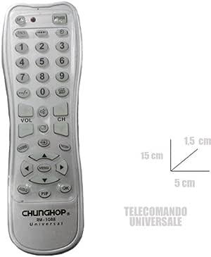 CONTROL REMOTO UNIVERSAL PARA MANDO A DISTANCIA TV RM-1088 SANYO SONY LG 002 024: Amazon.es: Electrónica