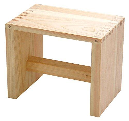 Bath Chair of Japanese Cypress(Hinoki) Bath Goods
