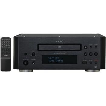 Teac CD-H750B CD Player (Black)