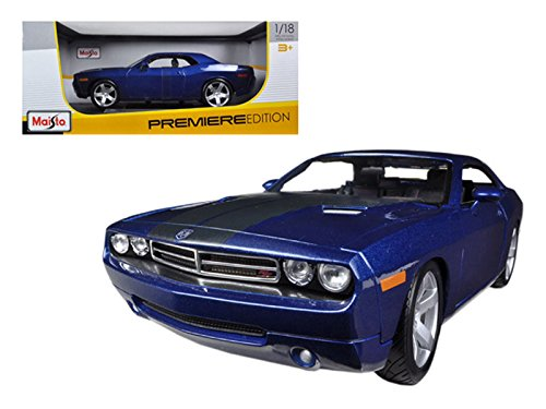 (2006 Dodge Challenger Concept Black Diecast Model)