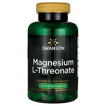 Swanson Magnesium L-Threonate 90 Veg Capsules
