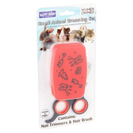 Happy Home Pet Products Small Animal Grooming Set