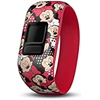 Garmin 010-12666-00 Disney Minnie Mouse Stretchy Accessory Band (for vivofit jr. & vivofit jr. 2)
