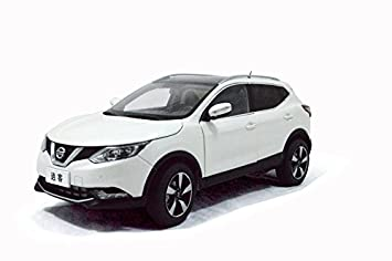 Nissan Qashqai 2015 Modelo a escala Escala 1:18 Blanco Paudi: Amazon ...
