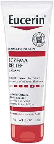 Eucerin Eczema Relief Cream - Full Body Lotion for Eczema-Prone Skin - 8 oz. Tube