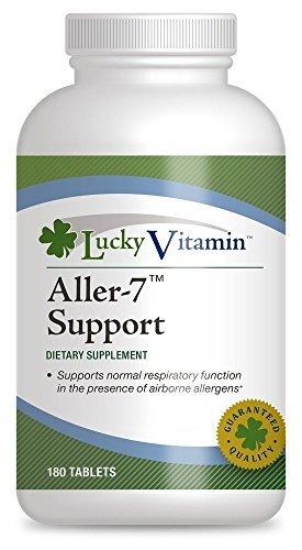 LuckyVitamin - Aller-7 Support - 180 Tablets by luckyvitamin