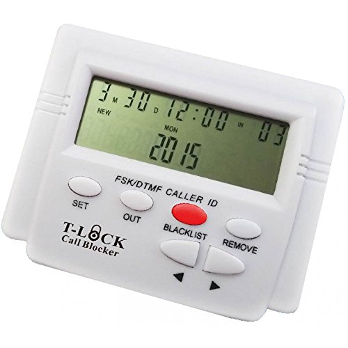 T-lock Incoming PRO Call Blocker with LCD Display and Blacklist by Pro Call Block