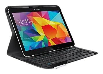 Logitech - Funda y Teclado Ultrathin para Tablet Samsung Galaxy Tab4 10?: Amazon.es: Informática