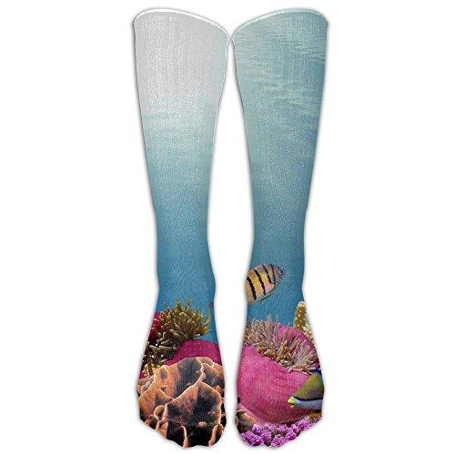 Jack The Ripper Costume Plus Size (Tropical Fish Sport Tube Compression Soccer Socks For Men And Women - Running & Fitness - Best Medical, Nursing, Travel & Flight Socks)