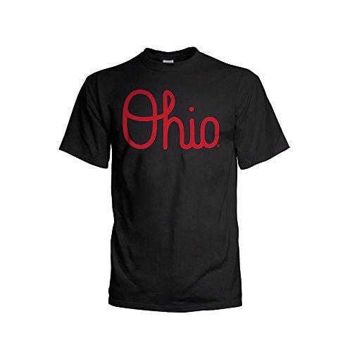 - Elite Fan Shop Ohio State Buckeyes Tshirt Black - L
