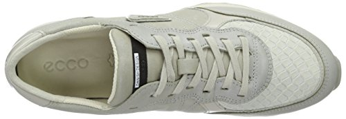 Gravel Femme Sneak Ladies Ecco Baskets 42 Gravel Weiß 50399gravel EU Basses White Gris xH4FqvwFB