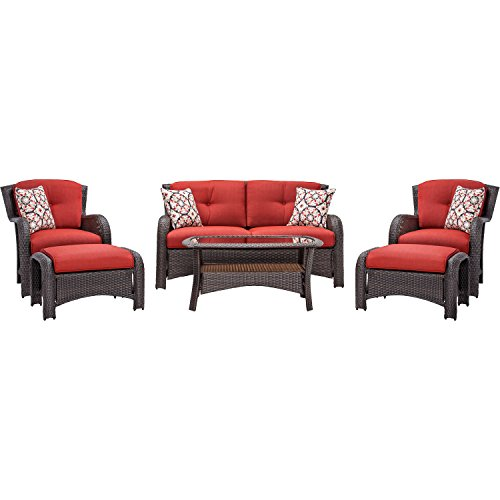 Hanover Strathmere 6 Piece Outdoor Deep Seating product image