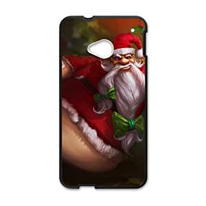 HTC One M7 Cell Phone Case Black League of Legends Santa Gragas OIW0447713