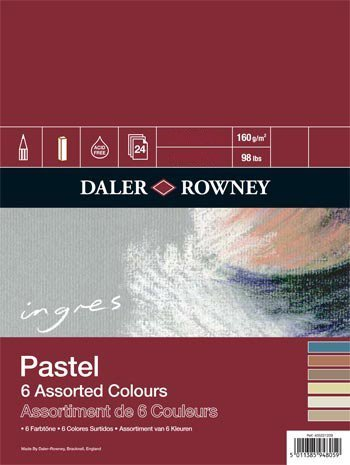 Ingres Sp.6Ass.Shd.150G 9X6 9X6 9X6 by Daler Rowney f82822