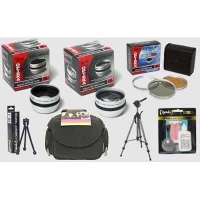 Opteka Sony Handycam HDR-UX1 UX10 UX20 SR1 HC62 HC52 HC96...
