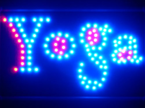 - ADV PRO led075-b Yoga Center LED Neon Sign WhiteBoard