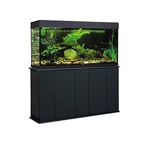 Aquatic Fundamentals AMZ-36551-01, 55 Gallon Aquarium Stand with Double Door Storage, Black Finish 7
