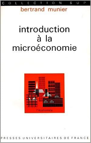 Introduction à la microéconomie, 1ère édition pdf epub