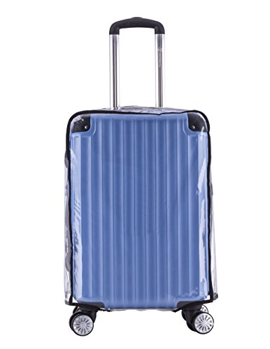 "Holly LifePro Travel Waterproof Luggage Clear PVC Cover Protector Suitcase Fits Most 20"" to 32"" Luggage"