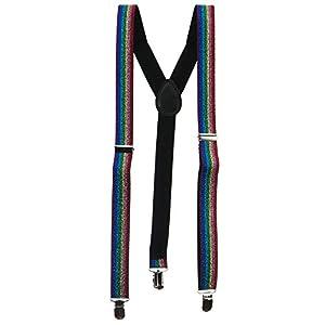 Sparkle Suspenders – Rainbow