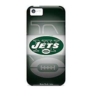 High Quality Shock Absorbing Case For Iphone 5c-new York Jets