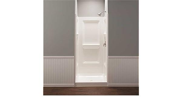 Amazon.com: Mustee 736WHT White Durawall Shower Wall: Electronics