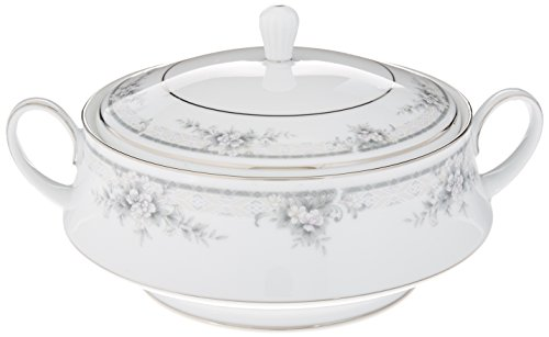 - Noritake Sweet Leilani Covered Vegetable Bowl