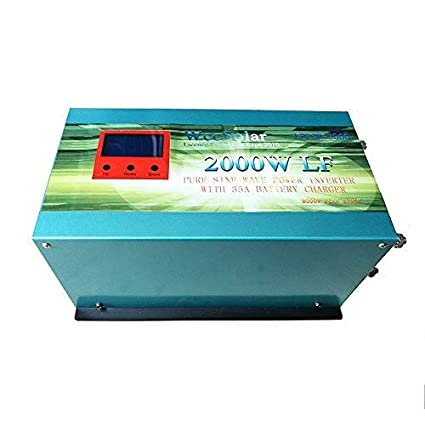 WccSolar Inverter 2000w Inversor Onda Pura del Seno DC 12V ...