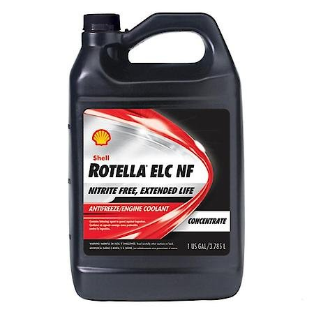 Rotella ELC Nitrite Free Antifreeze/Coolant Concentrate 1 Gal. 6-Pk by Shell