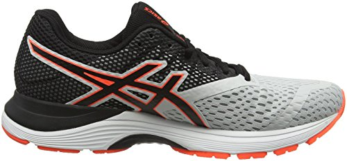 Grey Gel De pulse 020 Homme Multicolore 10 Chaussures Running glacier black Asics zaqfdq