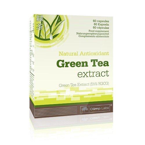 Olimp Green Tea Extrakt- Blister Box 60 Kapseln, 1er Pack ( 1 x 22,8 g)