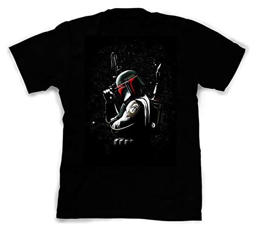 NovaTees Pop Culture Star Wars' Boba Fett Inspired Fan Art Custom Made Designed T-Shirts Tees; Size: -