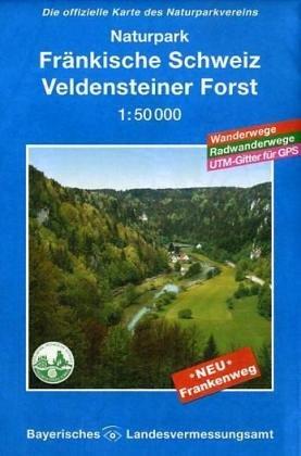 UKL 29 - Naturpark Fränkische Schweiz. Veldensteiner Forst 1 : 50 000: Die offizielle Karte des Naturparkvereins. Mit Wanderwegen. Mit Radwanderwegen. Gitter für GPS-Nutzer