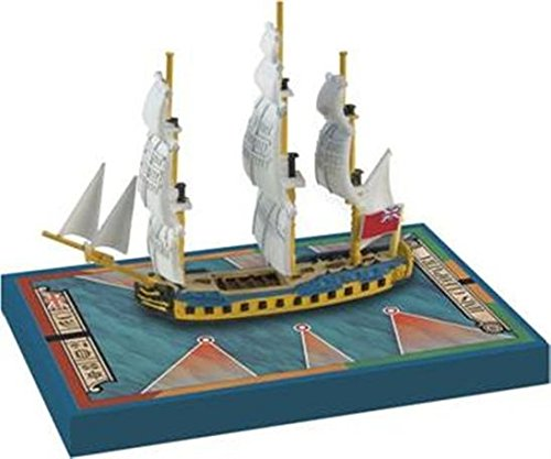 Sails of Glory Ship Pack - HMS Cleopatra 1779 Board (Cleopatra Board Game)
