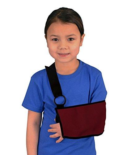 Kids Shoulder and Arm Sling - Maroon