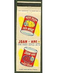 Joan of Arc Kidney Beans Butter Beans matchcover