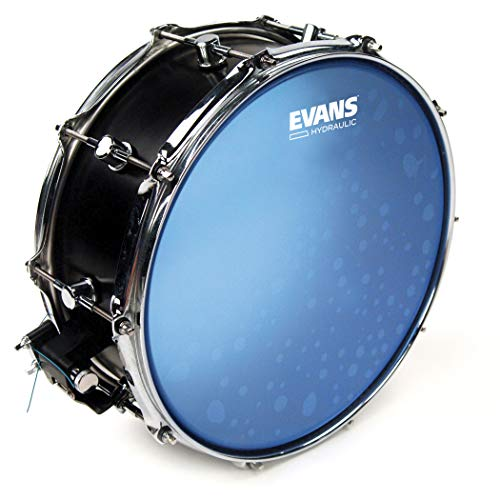Evans Hydraulic Blue Snare Batter Drum Head, 14 Inch (Chad Pearl Smith)