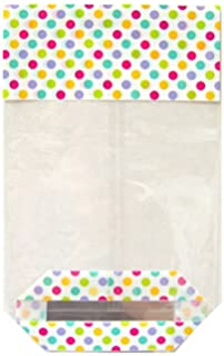 50 x spotty easter cellophane candy bags sweet treat party 50 x spotty easter cellophane candy bags sweet treat party wedding favour negle Choice Image