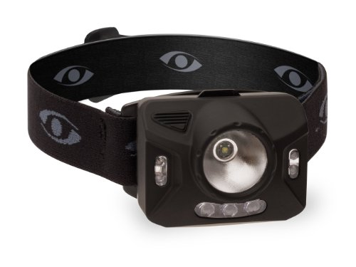 Cyclops RNG1XP Ranger CREE XPE Headlamp, 1-watt, Black (3 Led Headlight Mwave)