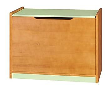 Coffre Milo 08, Couleur   Aulne vert, pin bois massif - Dimensions ... 2834aefa07d5