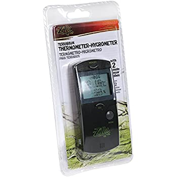 Zilla Reptile Terrarium Digital Thermometer-Hygrometer