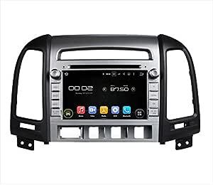 Real Media Hyundai Santa Fe Auto Radio Pantalla Táctil Android naviceiver USB SD Wifi GPS Navegación 3d TV Bluetooth manos libres: Amazon.es: Electrónica
