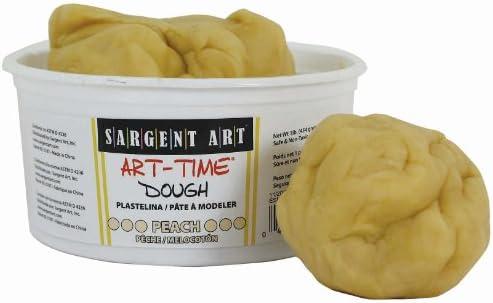Sargent Art 85-3187 1-Pound Multicultural Art-Time Dough Peach