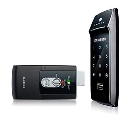 Samsung Digital cerradura de la puerta EZON SHS-2621 X NK Manual en Inglés SHS