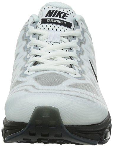 Nike Heren Air Max Wind In De Rug 7 Loopschoenen Wit / Zwart 683632-103