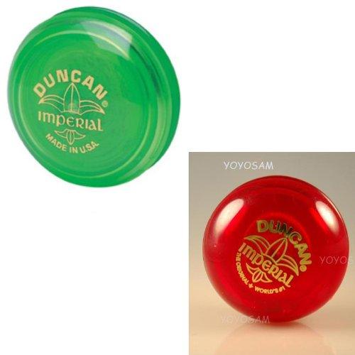 Duncan Imperial Yo-Yo 2-pack - Green/Red